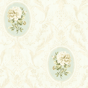 Eloisee Sky Cameo Damask CW20402