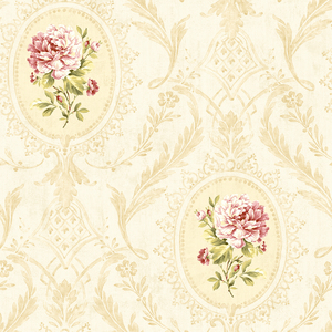 Eloisee Rose Cameo Damask CW20407