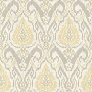 Raissa Grey Ikat Damask CW20800