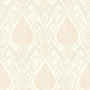 Raissa Blush Ikat Damask CW20801