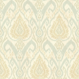Raissa Blue Ikat Damask CW20804