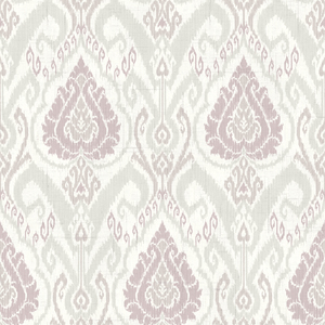 Raissa Lavender Ikat Damask CW20809