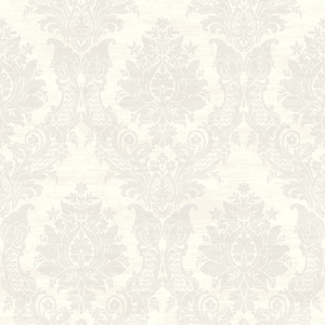 Sinclair Grey Textured Damask CW21300