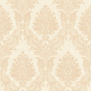 Sinclair Cream Textured Damask CW21302