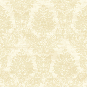 Sinclair Beige Textured Damask CW21307
