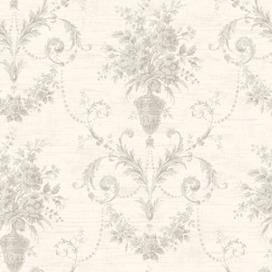 Calantha Blush Floral Urn Damask CW21501