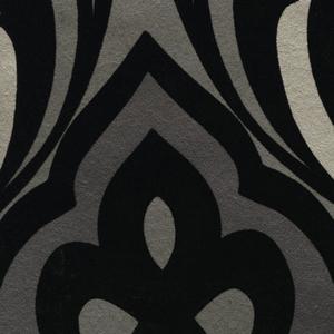 Sahrzad Black Nouveau Damask 341722