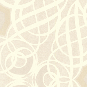 Caspian Champagne Swirling Geometric 341732
