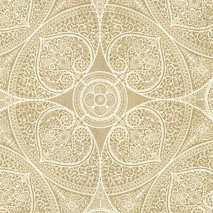 Yasamin Gold Mehndi Medallion 341751