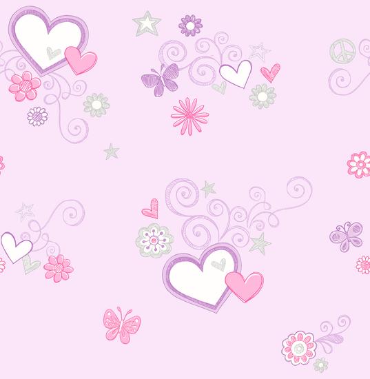 Heart Felt Lilac Hearts 2679-002152