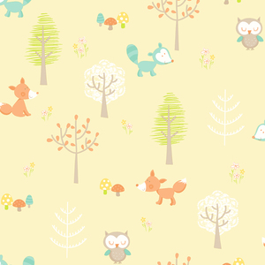 Forest Friends Yellow Animal 2679-002107