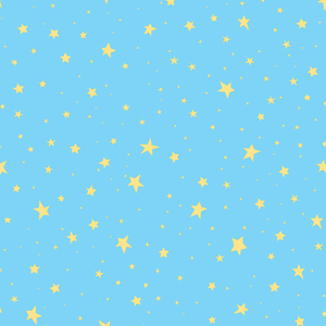 Stars Turquoise Outer Space 2679-002122