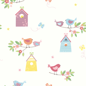 Birdhouses White Birds 2679-002126