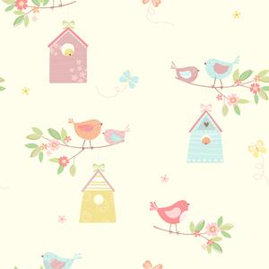 Birdhouses Turquoise Birds 2679-002127