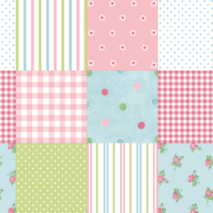 Patchwork Pink Patchwork 2679-002135