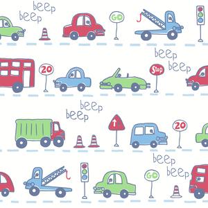 Beep Beep Beige Cars 2679-002140
