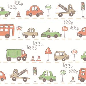 Beep Beep Beige Cars 2679-002141
