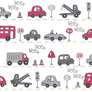 Beep Beep Grey Cars 2679-002142
