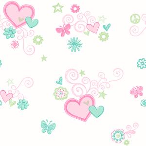 Heart Felt Green Hearts 2679-002153