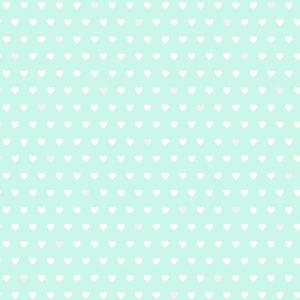 Small Hearts Aqua Hearts 2679-002157