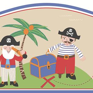 Pirates Sand Border 2679-50114