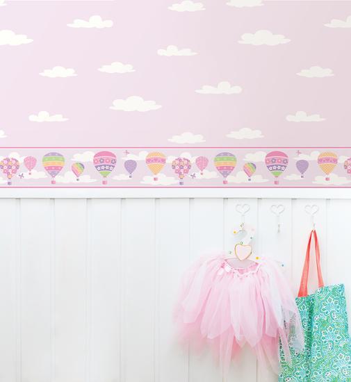 Balloons Lilac Border 2679-50130