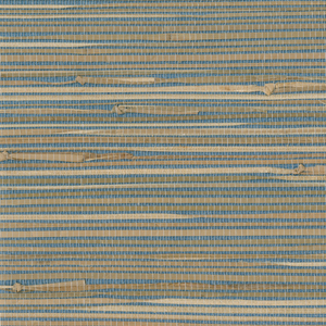 Jissai Mariner Blue Grasscloth 2693-30270