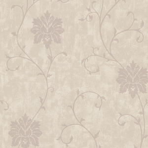 Dahli Taupe Floral Trail Wallpaper 450-58941
