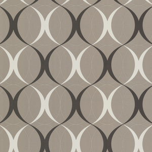 Circulate Sepia Retro Orb Wallpaper 450-67351