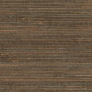 Reju Charcoal Grasscloth 2693-65663