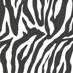 Zebbie White Zebra Print Wallpaper 450-46966