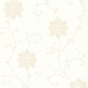 Dahli Pearl Floral Trail Wallpaper 450-67327