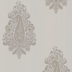 Dynasty Taupe Paisley Wallpaper 450-67340
