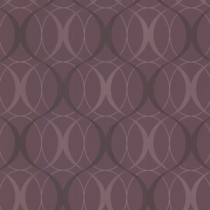 Circulate Purple Retro Orb Wallpaper 450-67353