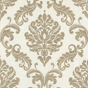 Sebastion Gold Damask Wallpaper 450-67359