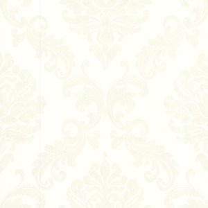 Sebastion Cream Damask Wallpaper 450-67363