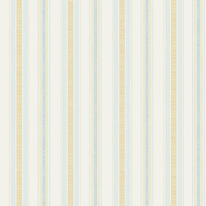 Summer Stripe in Yellow and Blue RV20503