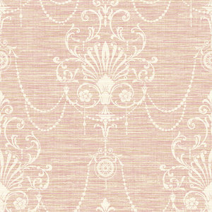 Floral Ornament in Pink and Biege RV20801