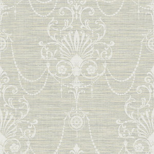 Floral Ornament in Grey and Biege RV20808