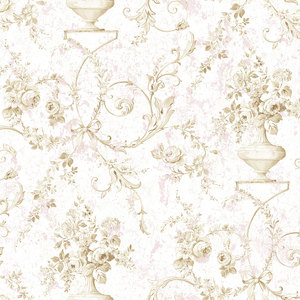 Sepia Floral with Pink RV20901