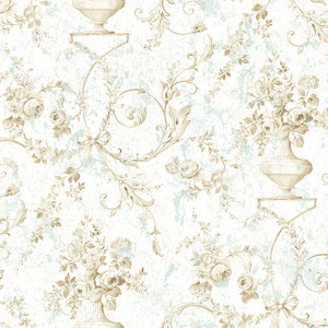 Sepia Floral with Mint RV20904