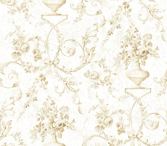 Sepia Floral with Gold RV20907