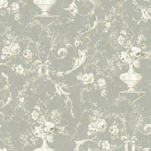 Sepia Floral with Grey RV20908