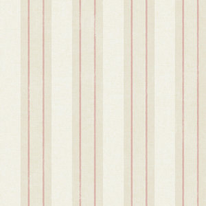 Cream Stripe with Pink Accent RV21207