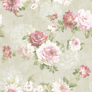 Rose Garden in Cream VA10501