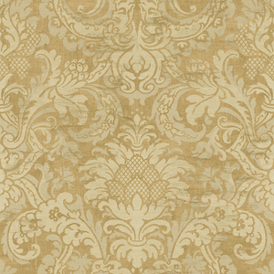 Damask in Ocher VA10203