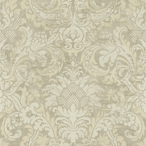 Damask in Taupe VA10208