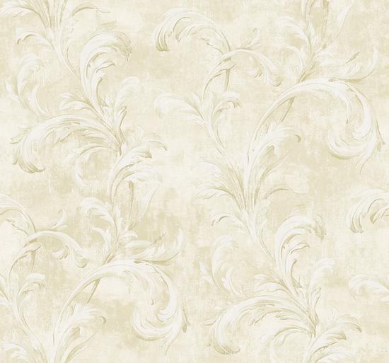 Scroll in Pale Gold VA10303