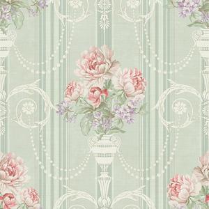 Classic Floral in Mint VA10704