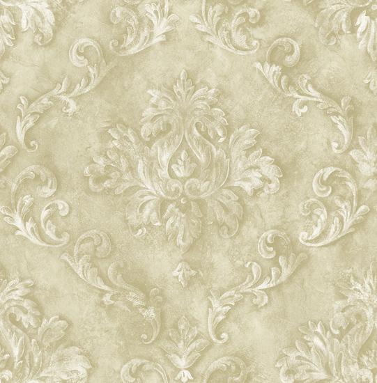 Decorative Flora in Linen VA11105